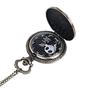 ieftine Cuarț ceasuri-Bărbați Ceas de buzunar Quartz Stil Vintage Ceas Casual Cool Analog - Digital Vintage - Negru