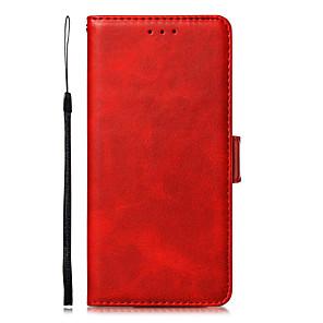 povoljno Maske/futrole za Xiaomi-futrola za xiaomi mi 9t 9t pro mi9 9se držač za kartice cijelo tijelo futrole pune boje pu kože tpu redmi k20 k20 pro note7 note 7 pro note 6 pro
