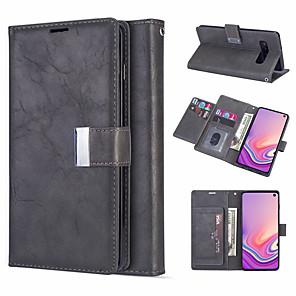 povoljno Samsung oprema-kožna torbica za magnetski flip novčanik za samsung galaxy s10 plus s10e s10 s9 plus s9 s8 plus s8 s7 edge s7 držač utora za držač utora za kućište galaxy note 10 plus note 10 note 9 note 8 note 8