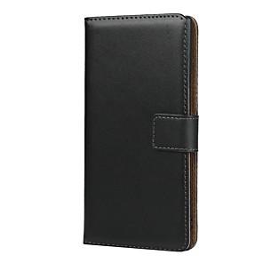 ieftine Carcase / Huse Galaxy Note Series-carcasă pentru samsung galaxy note 9 / nota 8 / galaxy note 4 portofel / suport pentru card / cutii din corp complet rezistent la șocuri din piele naturală solidă pentru Samsung Galaxy Note 10 /