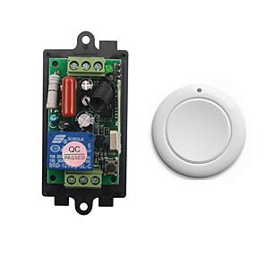 ieftine Switch inteligent-ac220v 1ch 10a releu telecomanda / receptor cod de învățare / led / receptor lămpă / comutare modul de lucru / 433mhz