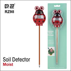 ieftine Testere & Detectoare-rz98 sol de umiditate ph detector de umiditate digital ph meter monitor de sol monitorizare igrometru plantă de grădinărit lignt tester solar