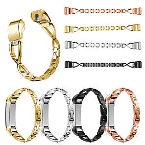 Недорогие Чехлы и кейсы для Galaxy J-для fitbit alta / alta hr x-shape diamond мода ремешок для часов ремешок из нержавеющей стали ремешок