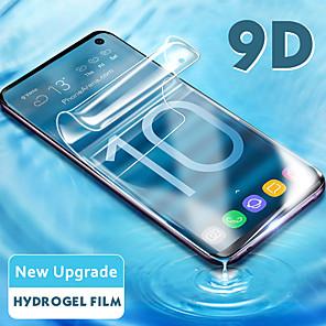 Недорогие Защитные плёнки для экранов Samsung-9d мягкая гидрогелевая пленка для samsung galaxy s9 s8 s10 plus note 9 8 s10e защитная пленка с полным покрытием, не закаленное стекло