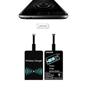 povoljno Punjači za auto-lagani bežični prijemnik za punjenje za android iphone type-c prijemnik indukcijski čip zlatno android obrnuto sučelje