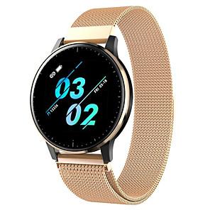 ieftine Smart Wristbands-q20 ceas inteligent bt fitness tracker suport notificare / monitorizarea ritmului cardiac sport din oțel inoxidabil smartwatch compatibil iPhone / samsung / android