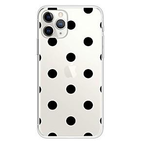 ieftine Carcase iPhone-Maska Pentru Apple iPhone 11 / iPhone 11 Pro / iPhone 11 Pro Max Ultra subțire / Transparent / Model Capac Spate Model Geometric TPU