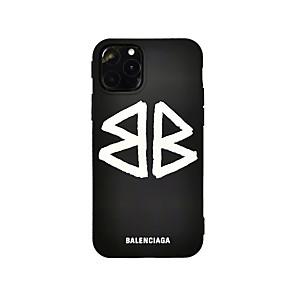 ieftine Carcase iPhone-Maska Pentru Apple iPhone 11 / iPhone 11 Pro / iPhone 11 Pro Max Ultra subțire / Model Capac Spate Cuvânt / expresie TPU