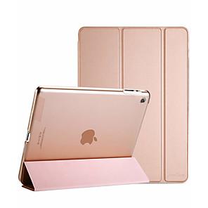 povoljno iPhone futrole/maske-Θήκη Za Apple iPad 4/3/2 Zaokret / Mutno / Origami Korice Jednobojni PU koža