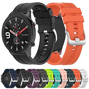 billige Android-sport silikone armbåndsur til xiaomi huami amazfit gtr 47mm / amazfit stratos 2 / 2s / amazfit tempo smart armbånd armbånd armbånd udskifteligt