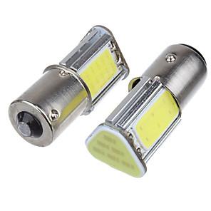 ieftine Car Signal Lights-2pcs 1156 Mașină Becuri 5 W COB 4 LED Bec Ceață / Bec Semnalizare / Lumini de frână Pentru Παγκόσμιο Toți Anii