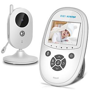 ieftine Accesorii PS3-wireless video smart baby monitor automat viziune de noapte camera de securitate pentru copii vox pal / ntsc two way talk zr302 monitorizare a temperaturii securitate acasă baby eletronica
