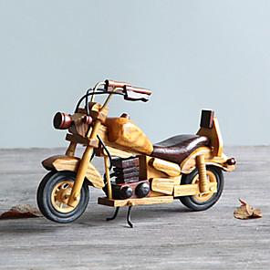 cheap Display Models-Wooden Motorbike Desk Decoration