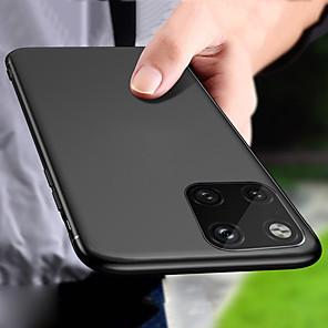 ieftine Carcase iPhone-Carcasă elegantă pentru piele netedă ultra subțire pentru telefon mat pentru iphone 11 pro max / iphone 11 pro / iphone 11 capac din spate rezistent la șocuri pentru iphone xs max xr xs x 8 plus 8 7