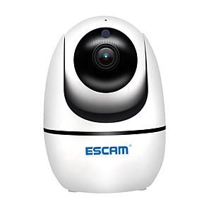 ieftine Camere IP-escam pvr008 h.265 hd 1080p 2 mp pan / tilt ptz cmos wifi wireless ir ip camera de asistență onvif două sensuri de noapte vorbire viziune de noapte camera de securitate acasă