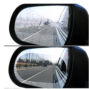 ieftine Rear View Monitor-2 buc auto oglindă retrovizoare film ploaie laterală fereastră film oglindă ecran complet anti-ceață film nano impermeabil