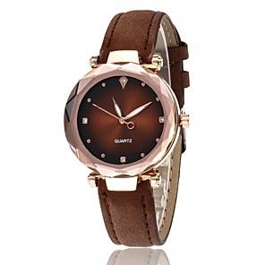 ieftine Cuarț ceasuri-Pentru femei Quartz Quartz Stl Negru / Albastru / Roșu Model nou Ceas Casual Analog Casual Modă - Negru Mov Roz Îmbujorat Un an Durată de Viaţă Baterie
