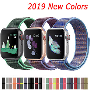 povoljno Apple Watch remeni-najlonski remen za traku s jabučnim satom 44mm 40mm 42mm 38mm sportska narukvica narukvica za jabučni sat serije 5/4/3/2/1 pribor