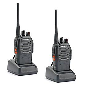 ieftine Walkie Talkies-2 buc walkie talkie baofeng bf-888s 16ch uhf 400-470mhz baofeng 888s ham radio hf transceiver amador portabil interfonuri super sunet de calitate