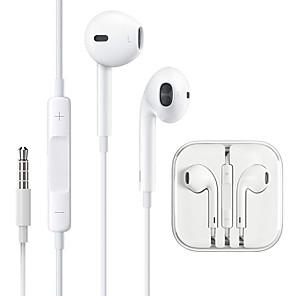 ieftine Aurii cu fir cu fir-căști cu fir cu fir mic cu microfon pentru iPhone