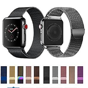 ieftine Părți Motociclete & ATV-Uita-Band pentru Apple Watch Series 5/4/3/2/1 Apple Curea Milaneza Oțel inoxidabil Curea de Încheietură