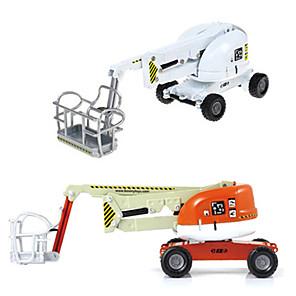 ieftine Vehicule din Jucărie-KDW 1:74 Plastic ABS Cherry Picker Toy Trucks & Vehicule de constructii Jucării pentru mașini Pentru copii Jucării auto