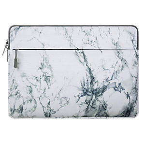 """cheap MacBook Air 13"""" cases-11.6 Inch Laptop / 12 Inch Laptop / 13.3 Inch Laptop Sleeve Canvas Marble Unisex Water Proof Shock Proof"""