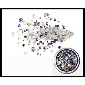 ieftine Îngrijire Unghii-1Bottle Lux / Design Modern / Spumos Strălucire Bijuterie unghii Ștrasuri Pentru nail art pedichiura si manichiura Zilnic Strălucitor & Sclipitor / Unghiul de bijuterii