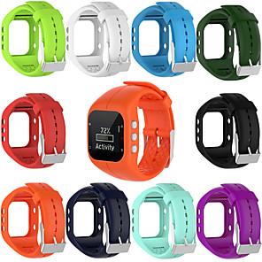 ieftine Gadget Baie-curea de mână cu bandă de cauciuc din silicon moale pentru ceas de fitness polar a300
