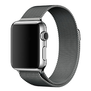 cheap Apple Watch Bands-Watch Band for Apple Watch Series 5/4/3/2/1 Apple Milanese Loop Stainless Steel Wrist Strap