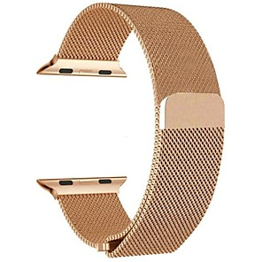 cheap Apple Watch Bands-Watch Band for Apple Watch Series 4/3/2/1 Apple Milanese Loop Stainless Steel Wrist Strap