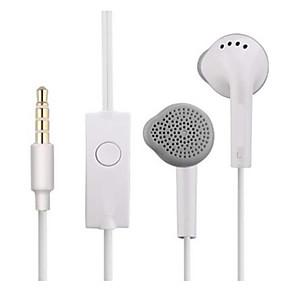ieftine Aurii cu fir cu fir-S5830 cască cu ureche plat controlată cu sârmă 3.55mm telefon mic cu cască sport pentru căști pentru samsung galaxy c550 s4 s5 s6