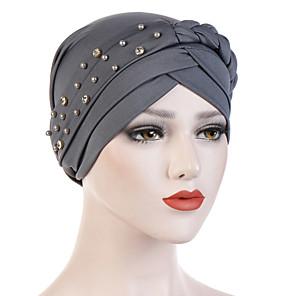 ieftine Pălării Femei-Pentru femei Mată Birou De Bază Cute Stil,Nailon-Floppy Toate Sezoanele Negru Alb Roz Îmbujorat