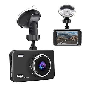 povoljno Punjači za auto-junsun q5 crtica kamera 3 lcd full hd 1080p 140 širokokutna nadzorna ploča kamera dvr kamera za vozila vozila sa video senzorom snimanje g-senzora za noćni vid