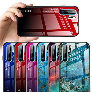 Недорогие Чехлы и кейсы для Huawei-чехол для huawei p30 p30 pro p30 lite зеркало всего корпуса чехлы цвет градиент тпу закаленное стекло p20 p20 pro p20 lite