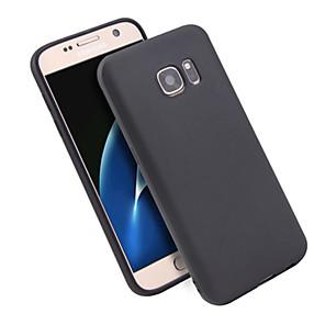 Недорогие Чехлы и кейсы для Galaxy S3-Кейс для Назначение SSamsung Galaxy S7 Защита от удара / Ультратонкий / Матовое Кейс на заднюю панель Однотонный ТПУ