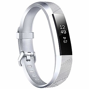 Недорогие Ремешки для спортивных часов-ремешок для часов для fitbit alta hr / fitbit ace / fitbit alta fitbit sport band силиконовый ремешок на запястье