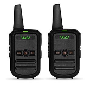 ieftine Walkie Talkies-două mini-talkie mini walkie-talkie ultra-subțiri walkie disponibile în toate ocaziile, cu frecvență programabilă de înaltă frecvență