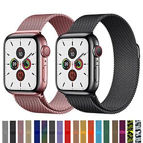 povoljno Apple Watch remeni-remen za ručni sat milanske petlje za jabučni sat serije 5/4/3/2/1 zamjenjiv narukvicu od narukvice od nehrđajućeg čelika