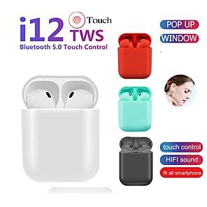povoljno Pravi bežični uš-LITBest LX-12 TWS True Bežične slušalice Bez žice Bluetooth 5.0 S mikrofonom S kutijom za punjenje Kontrola glasa Hej Siri EARBUD