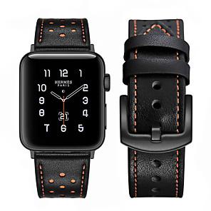 Недорогие Ремешки для Apple Watch-ремешок для часов для apple watch series 5 4 3 2 1 apple кожаный ремешок ремешок из натуральной кожи