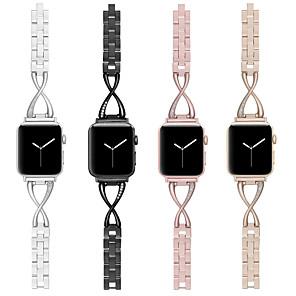 Недорогие Ремешки для Apple Watch-ремешок для часов для Apple Watch серии 5/4/3/2/1 дизайн ювелирных изделий Apple из нержавеющей стали ремешок на запястье