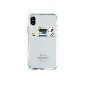 povoljno iPhone maske-Θήκη Za Apple iPhone 11 / iPhone 11 Pro / iPhone 11 Pro Max Ultra tanko / Prozirno Stražnja maska Prozirno / Crtani film TPU