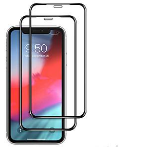 povoljno iPhone maske-2pcs kaljeno staklo s potpunim poklopcem za iphone 11 pro 2019 na iphone xr x xs max zaštitni zaslon zaštitno staklo za iphone xi xir max