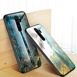 povoljno Maske/futrole za Xiaomi-kućište od mramornog kaljenog stakla za xiaomi redmi note 8 pro zaštitni stražnji poklopac za redmi note 8 silikonski meki tpu branik