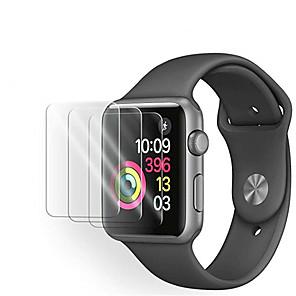 povoljno Apple Watch remeni-3pack zaštitni zaslon od kaljenog stakla od jabuke za seriju 5 43 2 1 zaštitnik zaslona