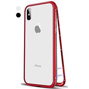 ieftine Îngrijire Unghii-Maska Pentru Apple iPhone XS / iPhone XR / iPhone XS Max Întoarce / Transparent Carcasă Telefon Mată Greu Sticlă Temperată