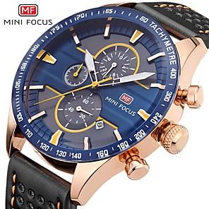 povoljno Muški satovi-minifocus ručni satovi za muškarce vrhunski luksuzni poznati poznati muški sat kvarcni sat