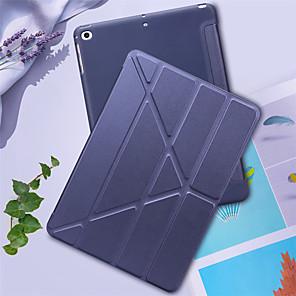 ieftine Carcase iPad-Maska Pentru Apple iPad nou de aer (2019) / iPad 10.2''(2019) Anti Șoc Carcasă Telefon Mată PU piele / TPU
