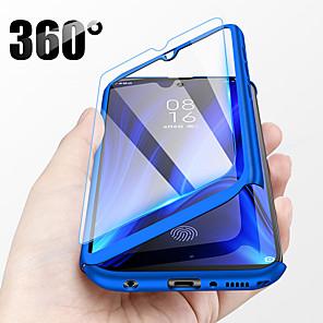 povoljno Maske/futrole za Xiaomi-360 potpuno zaštitna futrola za telefon za xiaomi 9t pro mi 9t redmi k20 pro k20 mi 9 se mi 8 lite redmi s2 a2 pocophone f1 tvrdi PC poklopac sa staklom